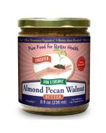Almond-Pecan-Walnut Butter 8 oz, Sprouted, Organic