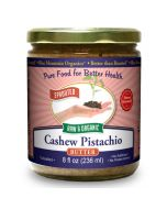 Cashew-Pistachio Butter 8 oz, Sprouted, Organic