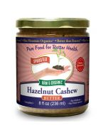 Hazelnut-Cashew Butter 8 oz, Sprouted, Organic