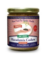 Macadamia-Cashew Butter 8 oz, Sprouted, Organic