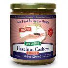 Hazelnut-Cashew Butter 8 oz, Sprouted, Organic