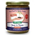 Just Four Nuts Butter 8 oz, Sprouted, Organic