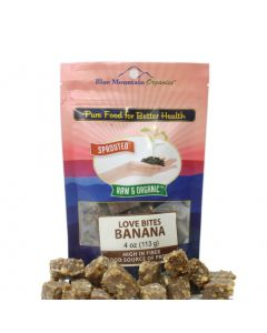 Banana Love Bites 4 oz, Sprouted, Organic