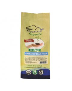 Garbanzo Flour, Sprouted, Organic