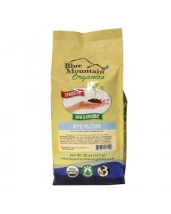 Rye Flour Bulk, Sprouted, Organic