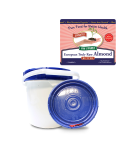 Almond Butter European Truly Raw Bulk, Sprouted, Organic