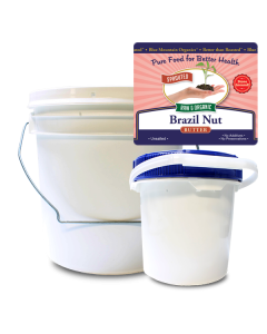 Brazil Nut Butter Bulk, Sprouted, Organic