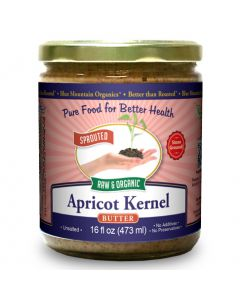Apricot Kernel Butter, Sprouted, Organic