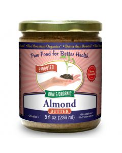 Almond Butter, Sprouted, Organic