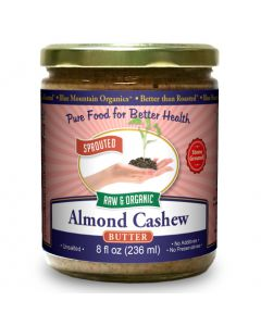 Almond-Cashew Butter 8 oz, Sprouted, Organic