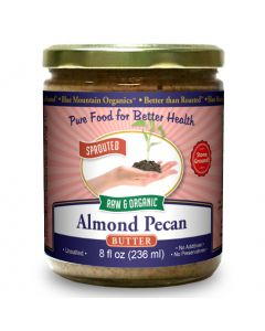 Almond-Pecan Butter 8 oz, Sprouted, Organic