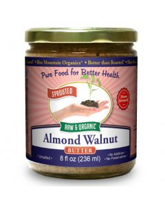 Almond-Walnut Butter 8 oz, Sprouted, Organic