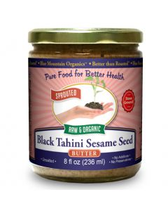 Black Sesame Seed Butter, Sprouted, Organic