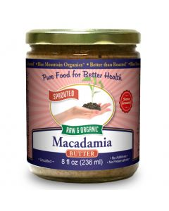 Macadamia Nut Butter, Sprouted, Organic