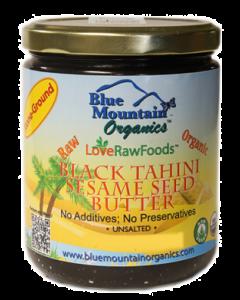 Black Sesame Seed Butter, Organic