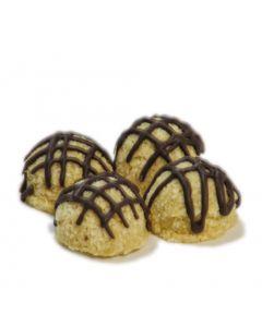 TRB Vanilla Macaroon Chocolate dipped 4 pc 3 oz